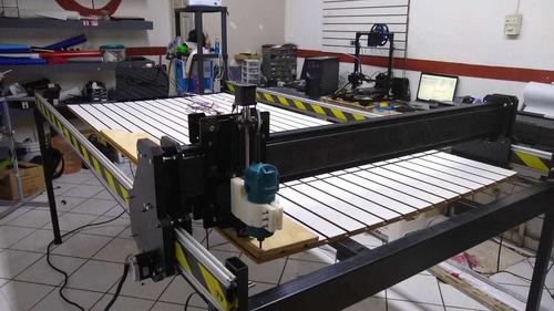 fabricación cnc router, laser, plasma, etc