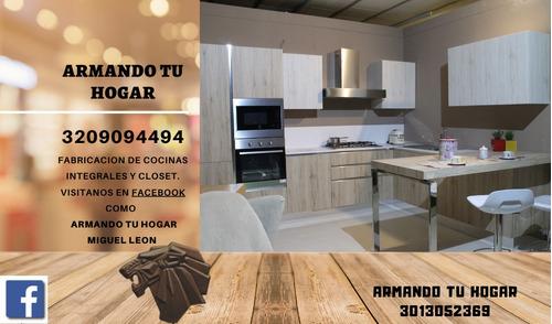 fabricacion cocina integrales bucaramanga armando tú hogar