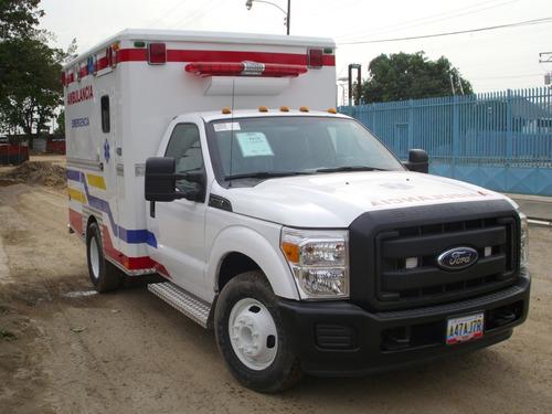 fabricación de ambulancias, clínicas móviles y unds. rescate