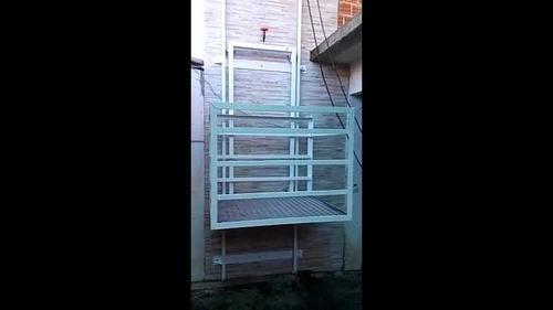 fabricación de ascensor casero