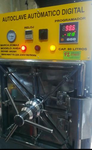 fabricacion de autoclave para central de esterilizacion