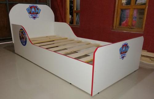 fabricación de camas.