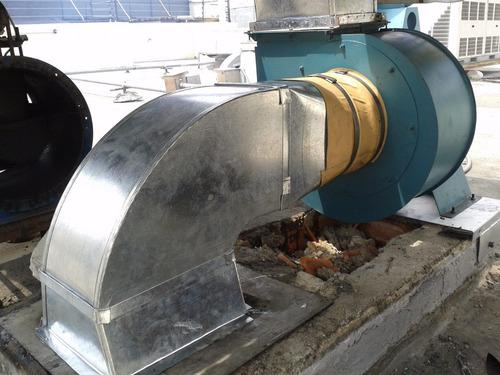 fabricacion de campanas, ductos y extractores para cocinas