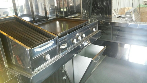 fabricacion de carro de comidas, chorizos, panchos, hamburg.