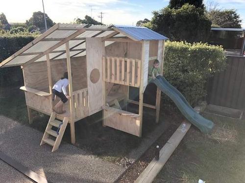 fabricacion de casitas y parque infantiles!!!!!oferta!!!!