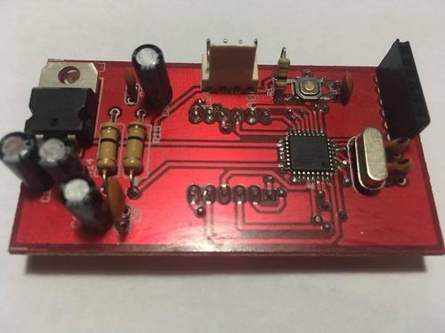 fabricación de circuitos electrónicos - pcb - vías metaliza