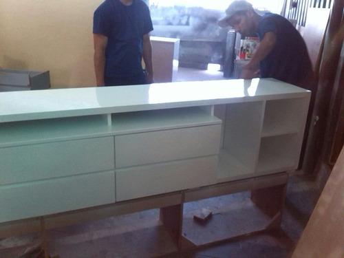 fabricación de cocinas closet, muebles tv y mas.