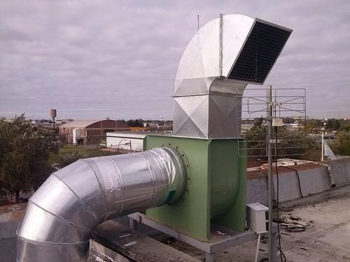 fabricación de conductos para aire acondicionado ventilación