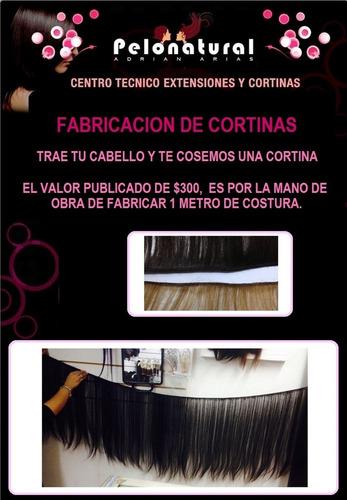 fabricacion de cortinas de cabello