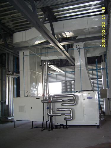 fabricación de ducto  de lamina galvanizada de calidad.