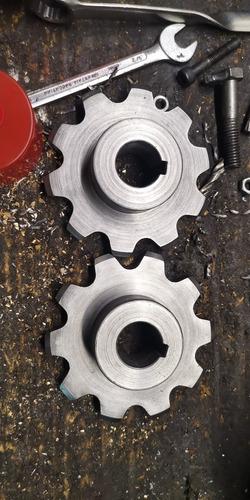 fabricación de engranajes