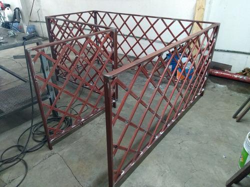 fabricación de estructuras metálicas, herrería y mobiliario