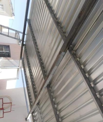fabricación de estructuras y techos