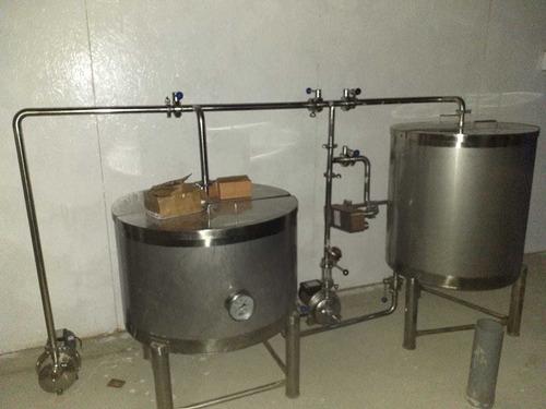 fabricación  de fermentador acero inoxidable