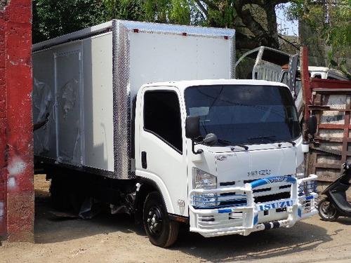 fabricacion de furgones y cama de camiones