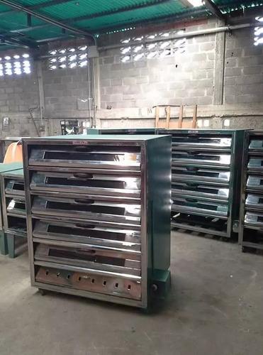 fabricación de hornos de panadería de 2 3 4 5 10 bandejas