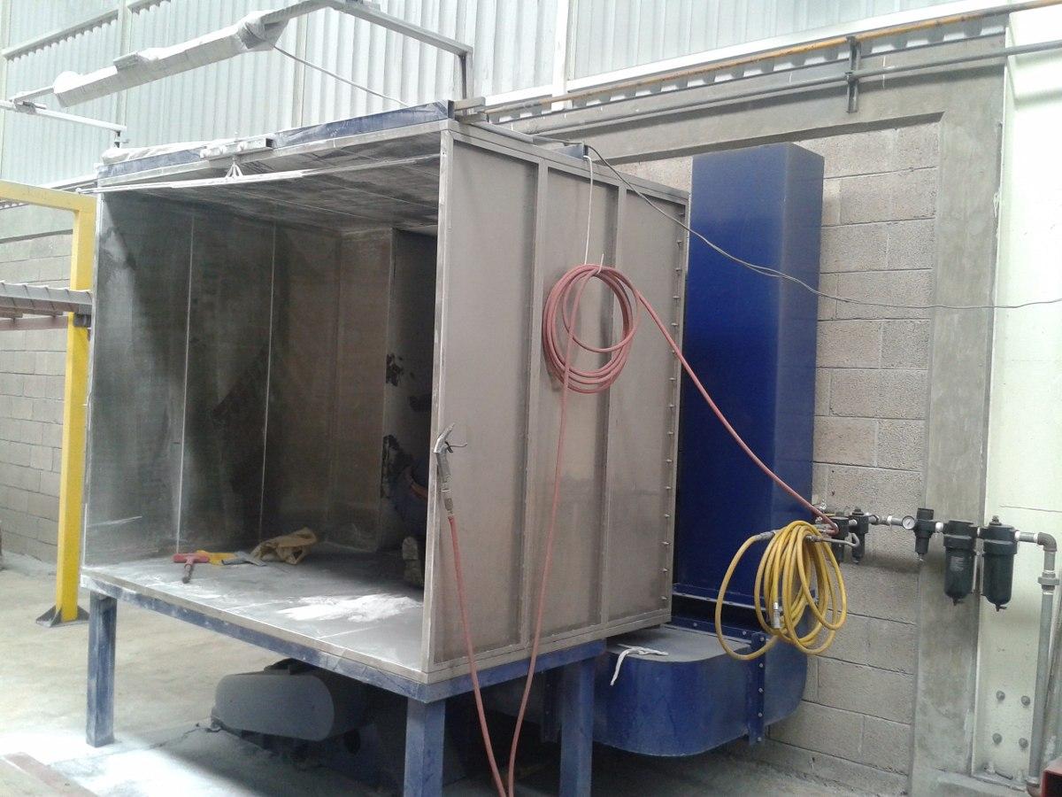 Fabricaci n de hornos industriales cabinas para pintura for Horno industrial