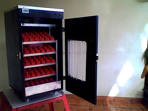 fabricación de incubadoras automaticas digitales