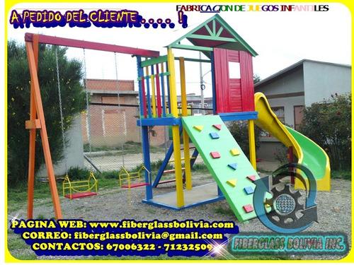 fabricacion de juegos infantiles para parques infantiles