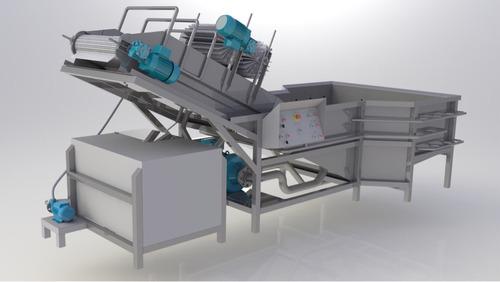 fabricación de lavadora y sanitizadora de frutas y vegetales