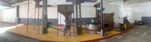 fabricacion de maquina torrefactora (tostadora) para cafe