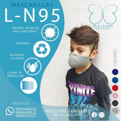 fabricación de mascarillas n95 entrega inmediata