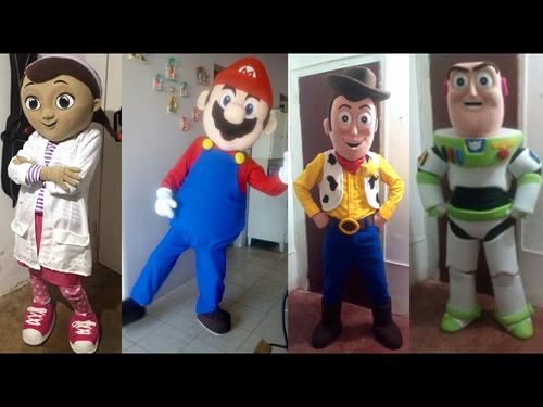 fabricacion de muñecotes, personajes, titeres