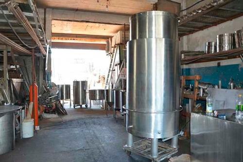 fabricación de ollas industriales artesanal aisi 304 316