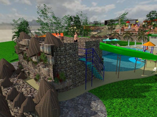 fabricacion de parques acuáticos