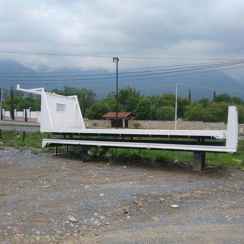 fabricación de plataforma de 24´pies