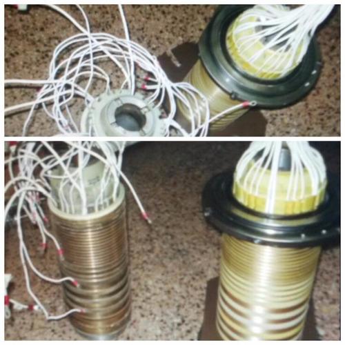 fabricación de porta-escobillas y anillos rozantes.
