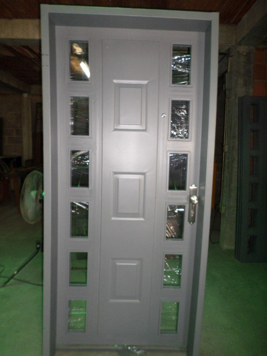 Fabricacion de puertas de hierro protectores y marcos for Fotos de puertas de hierro