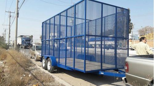fabricación  de remolques cama baja/alta cargageneral