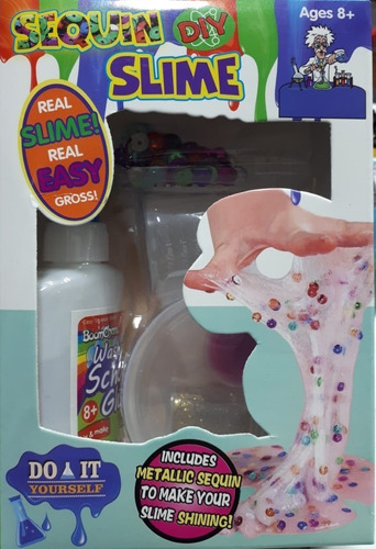 fabricación de slime, 4 modelos, fabrica de slime en casa