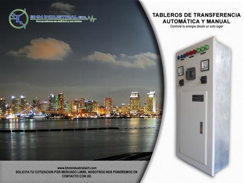 fabricación de tableros de transferencia automática y manual