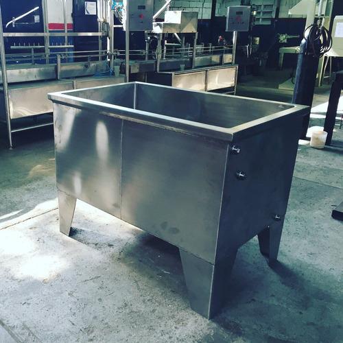 fabricación de tanques, mezcladores, marmitas acero inox.