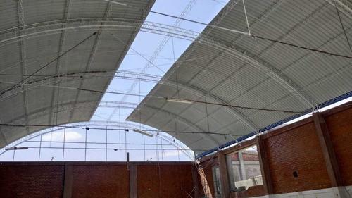 fabricacion de techos industriales parabólico y a 2 aguas