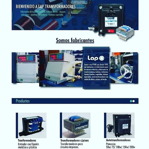 fabricacion de transformadores - bobinas - inductores-ozono