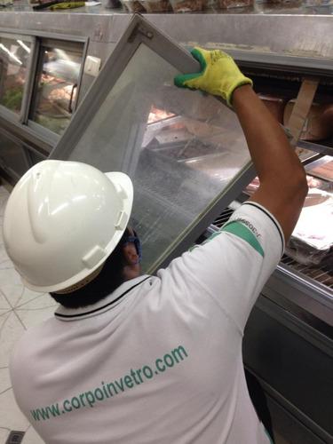 fabricación de vidrios curvos y thermopanes e instalación