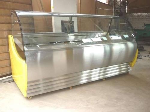 fabricacion de vitrinas para helados artesanales