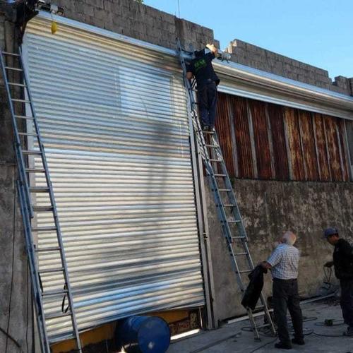 fabricación e instalación de cortinas metálicas