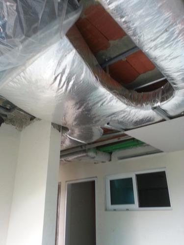 fabricacion e instalación de ductos para a/a