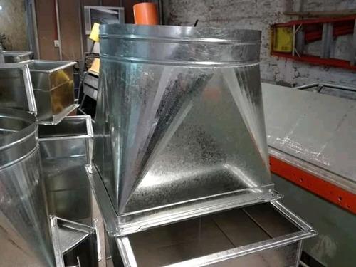 fabricación e instalación de ductos y piezas especiales