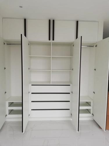 fabricación e instalación de muebles melaminicos