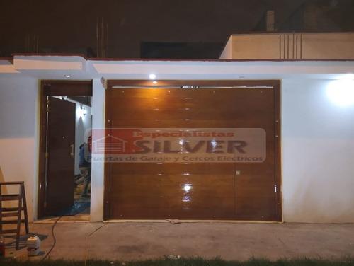 fabricación e instalación de puertas de garaje automaticas