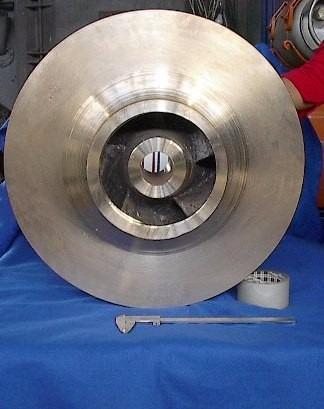 fabricación impulsores impeler rodete propela carcaza bombas