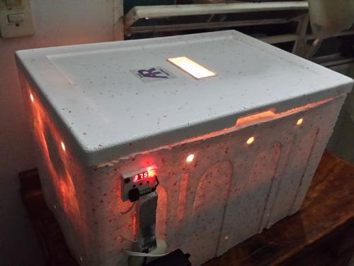 fabricacion incubadora avicola y geckos control digital