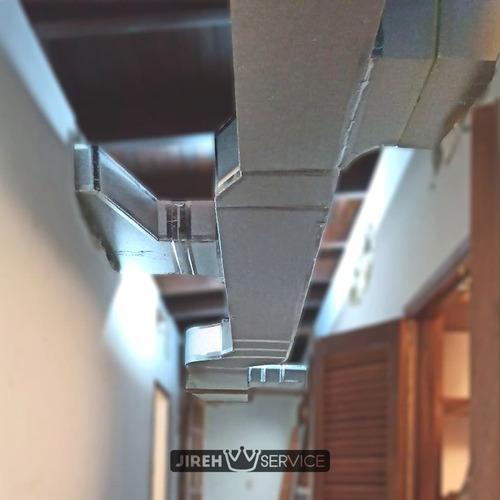 fabricación instalación de ducteria p3 y lamina galvanizada