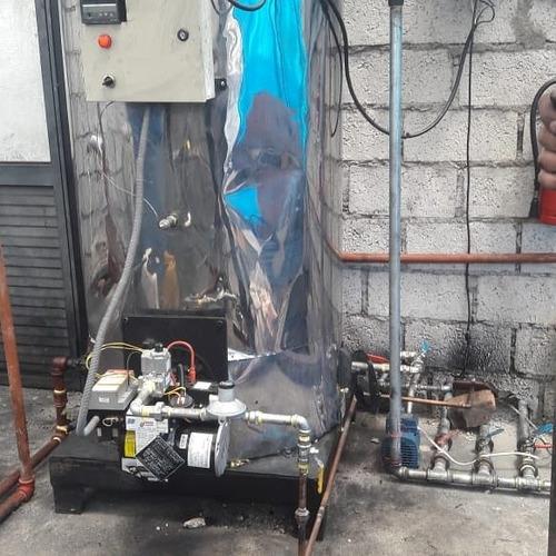 fabricación, mantenimiento y venta de calderas de vapor
