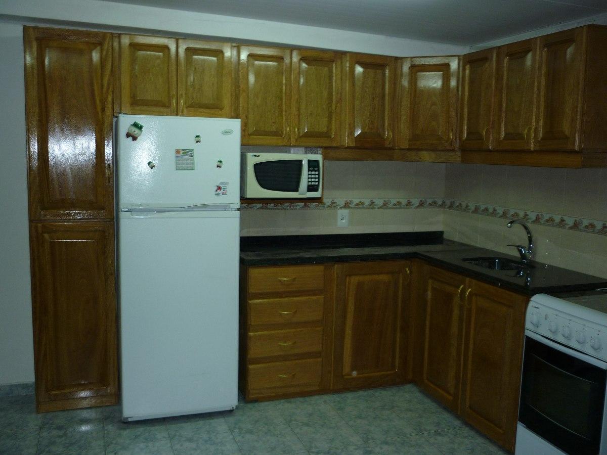 Fabricacion muebles de cocina aereos bajos granitos for Muebles de cocina para microondas